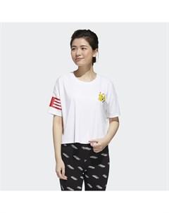 Укороченная футболка Pokemon Performance Adidas