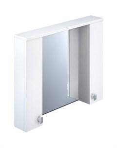 Зеркало шкаф Rise 900 с подсветкой RIS90W0i99 Iddis