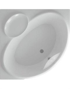 Акриловая ванна Эпсилон 150х150 фронтальная панель каркас слив перелив EPS150 0000066 Aquatek