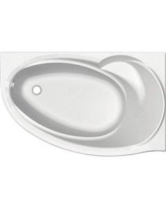 Акриловая ванна Бетта 170х100 правая фронтальная панель каркас слив перелив BET170 0000100 Aquatek