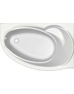 Акриловая ванна Бетта 150х95 правая фронтальная панель каркас слив перелив BET150 0000058 Aquatek