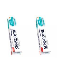 Набор Зубная паста Сенсодин Глубокое Очищение 75 мл 2 штуки Зубные пасты Sensodyne