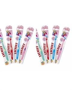 Набор Зубная щетка Бейби до 4 лет 2 штуки Зубные щётки Lacalut