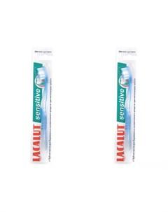 Набор Зубная щетка Сенситив мягкая щетина 2 штуки Зубные щётки Lacalut
