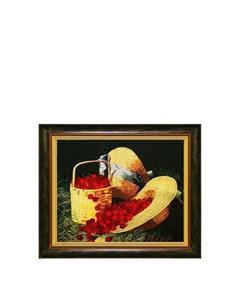 Картина На солнечной поляне Живой шелк