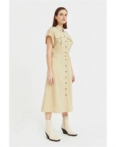 Платье рубашка с короткими рукавами Finn flare