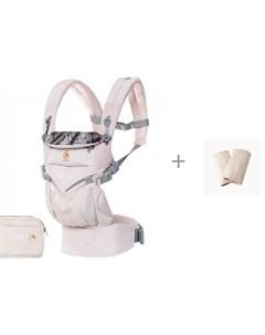 Рюкзак кенгуру Omni 360 Cool Air Mesh c накладками На Лямки Natural Ergobaby