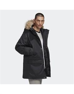 Удлиненная парка Fur Originals Adidas