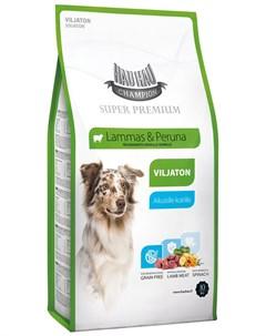 Champion Sp Dog Adult Lamb беззерновой для взрослых собак всех пород с ягненком 10 кг Hau-hau