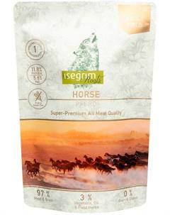 Roots Adult Field монобелковые беззерновые для взрослых собак с кониной 410 гр Isegrim