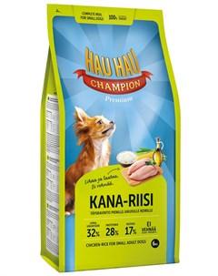 Champion Dog Adult Small Breed Chicken Rice для взрослых собак маленьких пород с курицей и рисом 6 к Hau-hau