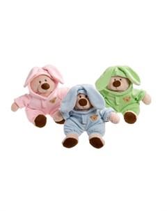 Karlie игрушка Медвежонок в костюме зайчика для собак Flamingo