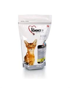 Hypoallergenic Гипоаллергенный сухой корм для взрослых кошек с уткой и картофелем 350 гр 1st choice