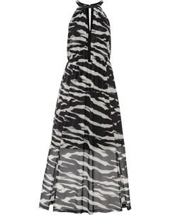 Платье макси с принтом Bonprix