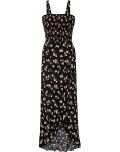 Платье макси из экологичной вискозы Bonprix