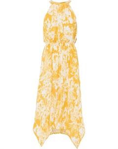 Платье c асимметричным подолом Bonprix