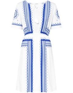 Платье трикотажное с принтом Bonprix