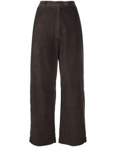 Вельветовые брюки прямого кроя Kristensen du nord