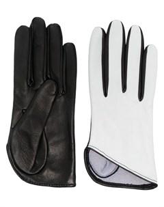 Перчатки в двух тонах Manokhi