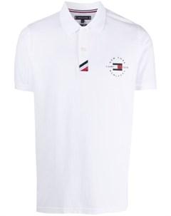 Рубашка поло с логотипом Tommy hilfiger