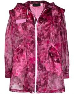 Парка Blossom с камуфляжным принтом Mr & mrs italy