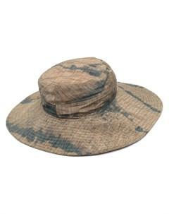 Шляпа с принтом тай дай Henrik vibskov