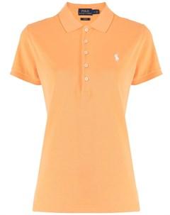 Рубашка поло с вышитым логотипом Polo ralph lauren