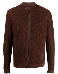 Куртка на молнии с перфорацией Tagliatore