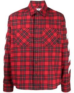 Рубашка Diag в клетку Off-white