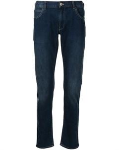 Прямые джинсы средней посадки Emporio armani