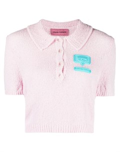 Рубашка поло с логотипом Chiara ferragni