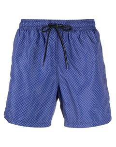 Плавки шорты с принтом Drumohr