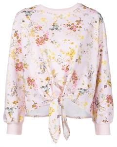 Пуловер Sakura с цветочным принтом Cinq a sept