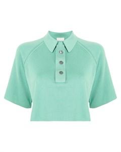 Укороченная рубашка поло Forte forte