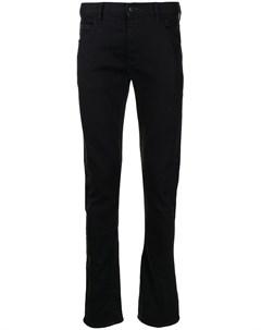 Узкие джинсы средней посадки Emporio armani