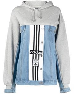 Джинсовая куртка с логотипом Adidas