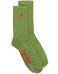Носки с вышивкой Rick Morty Gcds