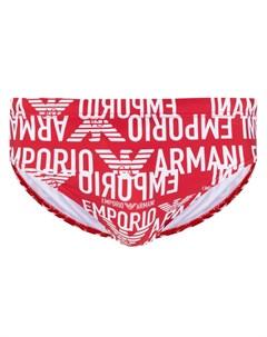 Плавки с логотипом Emporio armani