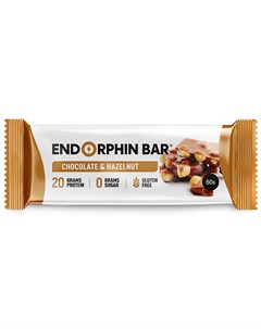 Батончик протеиновый Шоколад фундук 60 г Endorphin bar
