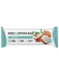Батончик протеиновый Кокос 60 г Endorphin bar