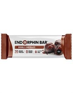 Батончик протеиновый Двойной шоколад 60 г Endorphin bar