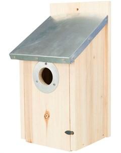 Скворечник для скворцов с оцинкованной крышей 18 х 31 х 16 см 1 шт Trixie