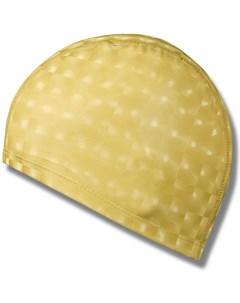 Шапочка для плавания ткань прорезин PU эффект 3D желтый H390 4 390 4 H No name