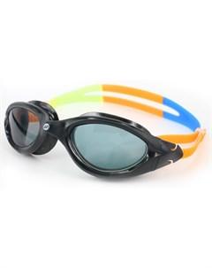 Очки для плавания Barracuda VENUS антифог силикон 31720 Черн Оранж No name