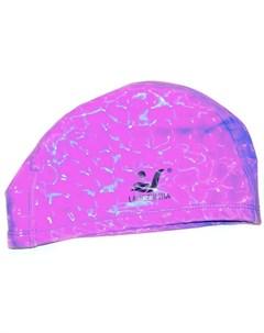 Шапочка для плавания ткань прорезин PU эффект 3D розовый H390 2 390 2 H No name