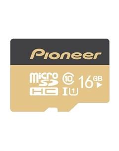 Карта памяти MicroSD Card 16Gb APS MT1D 016 Pioneer