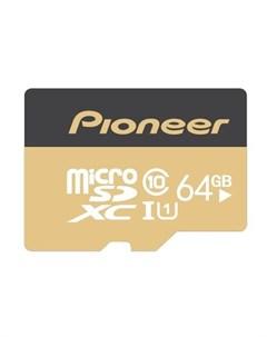 Карта памяти MicroSD Card 64Gb APS MT1D 064 Pioneer