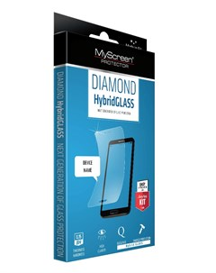Защитное стекло HybridGLASS EA Kit iPhone 6 6S Plus Diamond