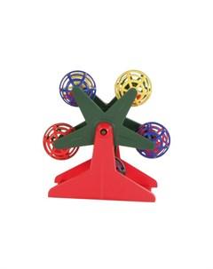 Игрушка для птиц 5355 карусель с шариками Trixie