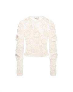 Льняной пуловер Valentino